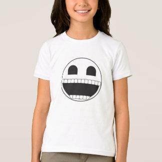 Smilieの骨組 Tシャツ