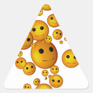 smilies 三角形シール