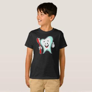 Smiling博士の歯ブラシの健康はTシャツをからかいます Tシャツ