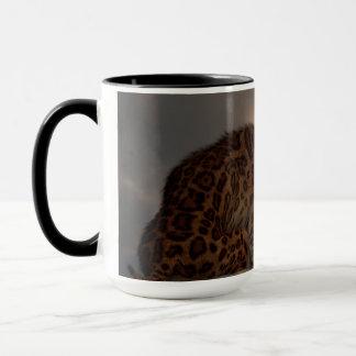 Smilodon Californicusの眺望 マグカップ