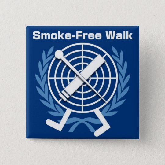 smoke_free_walk_badge 5.1cm 正方形バッジ