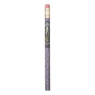 Smokeyのラベンダーの明るいNのきらめくなラマ 鉛筆