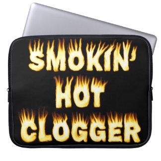 Smokin熱いCloggerのダンス ラップトップスリーブ