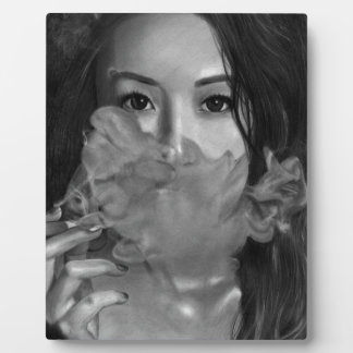 Smoking Hot Design Vapeの女性 フォトプラーク