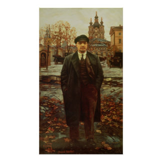 Smolny、c.1925のVladimir Ilyichレーニン ポスター