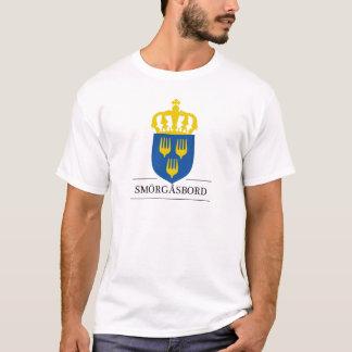 Smörgåsbordのfrån Sverige Tシャツ