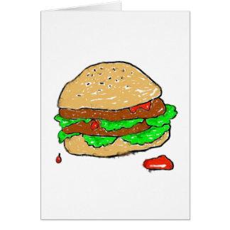 Smudgyハンバーガー カード