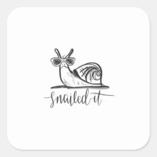 Snailedそれ スクエアシール