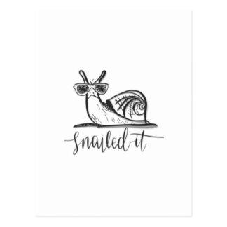 Snailedそれ ポストカード