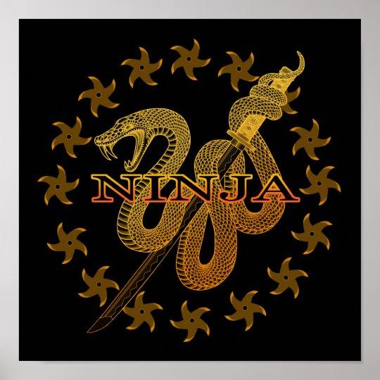 Snake Ninja 01 ポスター