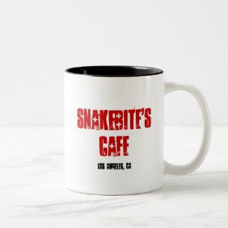SNAKEBITEのカフェ ツートーンマグカップ