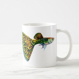 Snakeskinのコブラのグッピーのマグ コーヒーマグカップ