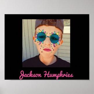 Snapchatジャクソンのhumphriesポスター ポスター