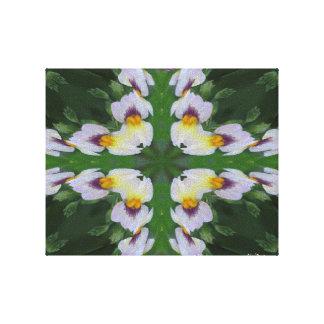 SNAPDRAGONのフラクタルのイメージ2 キャンバスプリント