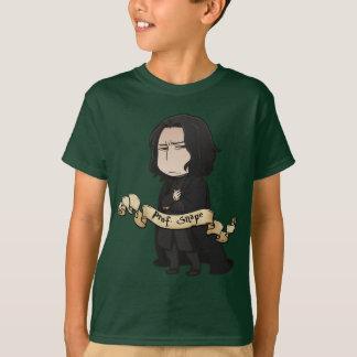 Snape日本製アニメ教授 Tシャツ