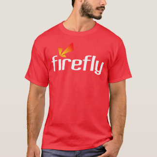 SnapStream媒体の赤のワイシャツ Tシャツ