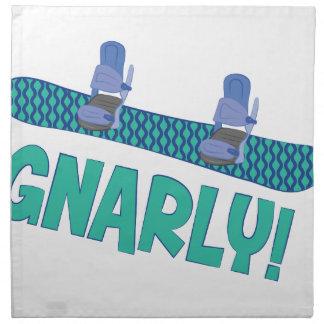 Snarlyスノーボード ナプキンクロス