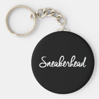 Sneakerheadのスローガンのプリント キーホルダー
