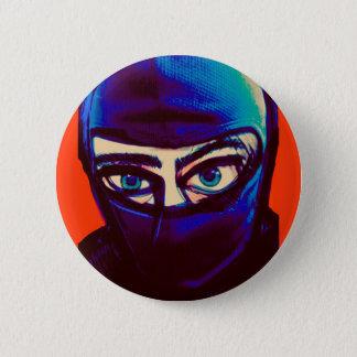Sneaky Ninja Pin 5.7cm 丸型バッジ