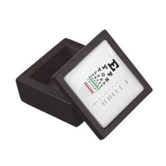 Snellenの視力検査表の優れたギフト用の箱 ギフトボックス