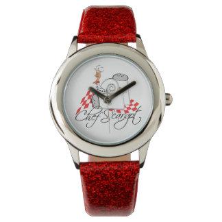 """Sneopleの""""シェフのS'cargot""""のかたつむりの腕時計 腕時計"""