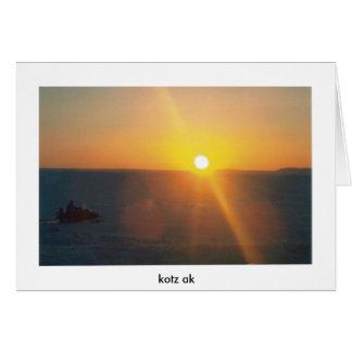 snogoの太陽、kotzのak カード