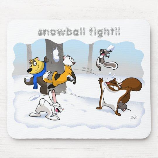 snowball mousepad マウスパッド
