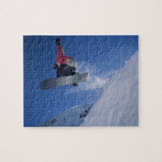 Snowbirdリゾート、ユタ(氏)のスノーボード ジグソーパズル