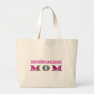 SnowboardingMom ラージトートバッグ