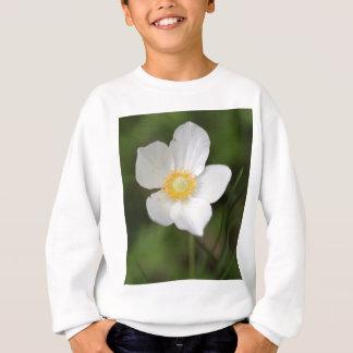 Snowdropアネモネ(アネモネのsylvestris) スウェットシャツ