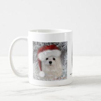 Snowdropマルタのクリスマスのマグ コーヒーマグカップ