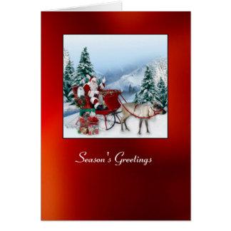 Snowdropマルタのクリスマスカード カード