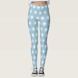 Snowflakes Leggings レギンス