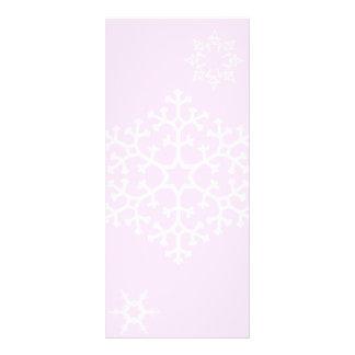 snowflakes_on_light_pink ラックカード