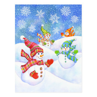 SnowGirls ポストカード