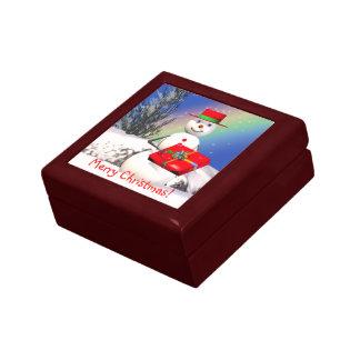 Snowmansのクリスマスプレゼント ギフトボックス