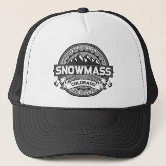 Snowmassの灰色 キャップ