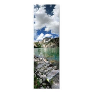 Snowmass湖/ピーク-あずき色の美女 フォトプリント