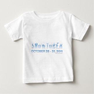 Snowtober 2011年 ベビーTシャツ