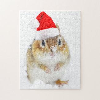Snowyのクリスマスのシマリス ジグソーパズル
