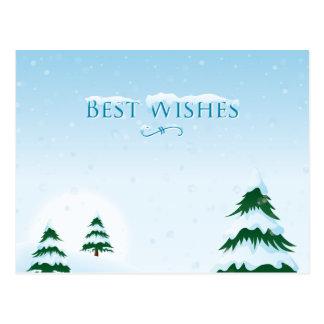Snowyのクリスマスツリー1 ポストカード