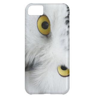 Snowyのフクロウの目の写真のI電話箱 iPhone5Cケース