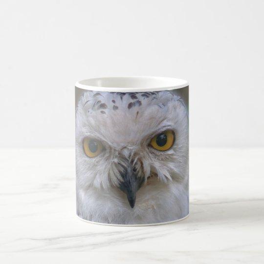 Snowyのフクロウ、Schnee-Eule コーヒーマグカップ
