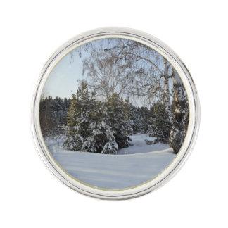 Snowyの冬の日 ラペルピン