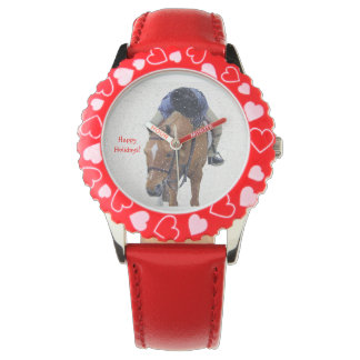 Snowyの子馬の休日 腕時計