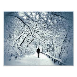 Snowyの孤独 フォトプリント