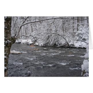 Snowyの川 カード