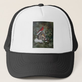 Snowyの巣箱の(鳥)ショウジョウコウカンチョウ キャップ