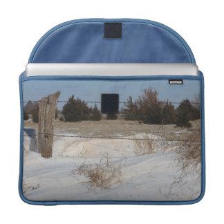 Snowyの景色のラップトップのバッグ MacBook Proスリーブ