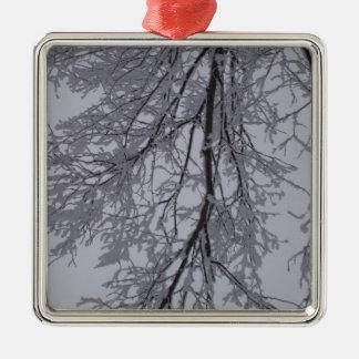 Snowyの枝および空 メタルオーナメント